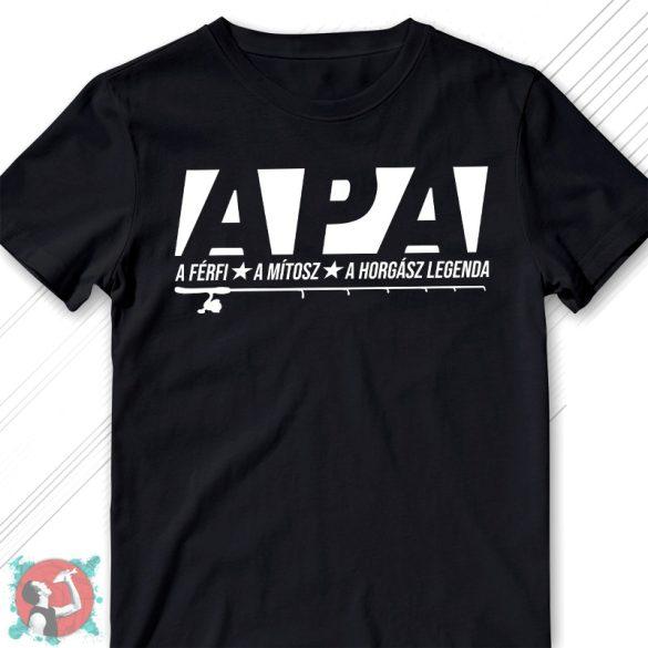 Apa - a férfi, a mítosz, a horgász legenda (Férfi póló)