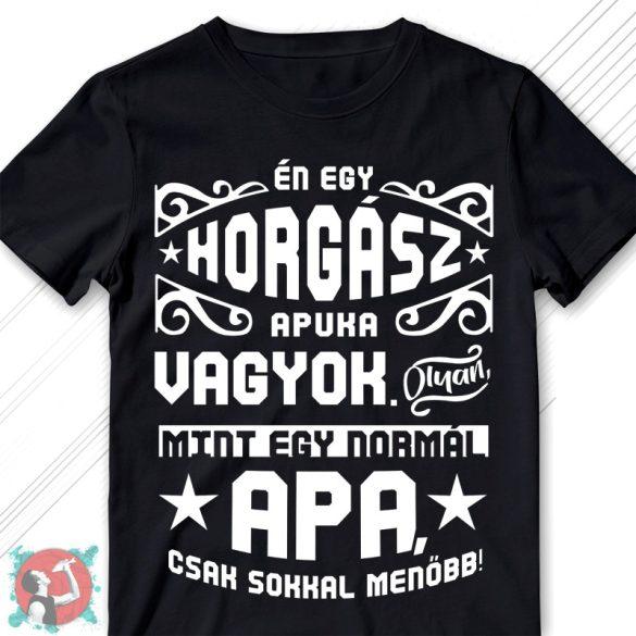 Én egy horgász apuka/nagypapa vagyok (Férfi póló)